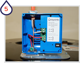 Install the Aquanta controller and other sensors